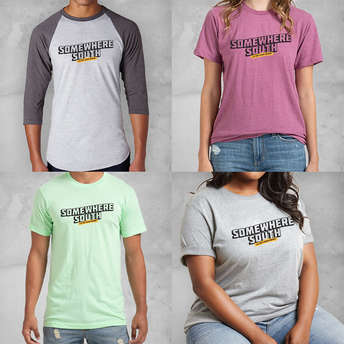 Brighten someone's day (or your own😬🛍) with a new Somewhere South shirt! Shop here: https://t.co/4LVjlB5ipZ #SomewhereSouthPBS   #wearitwednesday #shop #merch #tv #shirt #tvshow #tshirts #clothing #tees #apparel #swagg #show #tshirtoftheday https://t.co/uH1Z66zXF0