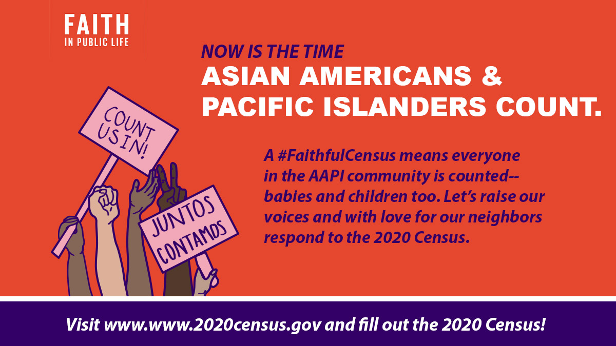 A #FaithfulCensus means everyone in the AAPI community is counted! Did you know the #2020Census is offered in six Asian languages? Visit https://t.co/eGHKDNNHpz to find language guides and fill out your census. #AAPI2020 https://t.co/sVMBkYdguk