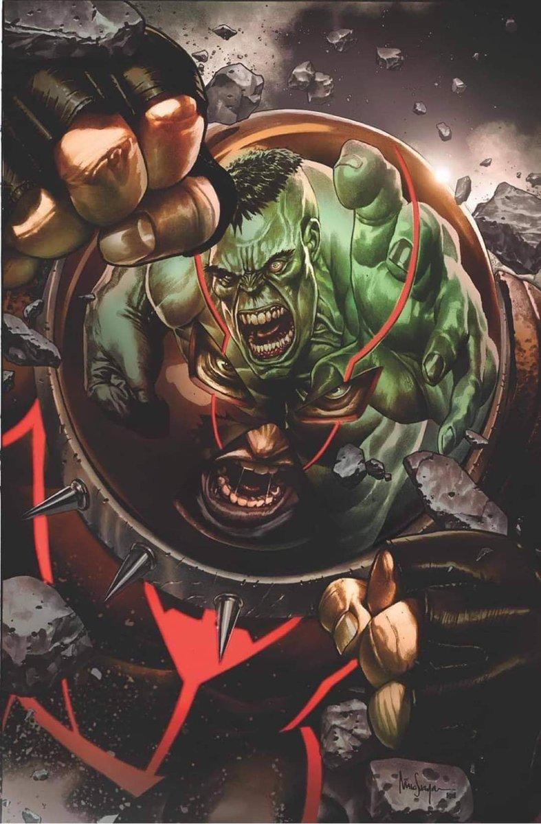 Espectacular pirtada variante de Mico Suayan para Juggernaut #1. Esta será exclusiva de Unknown Comics. #Marvel #XMen #Wolverine #HouseOfX #PowersOfX #NewMutans #JeanGrey #Magik #Hulk #ImmortalHulk https://t.co/KdTA0fljoF