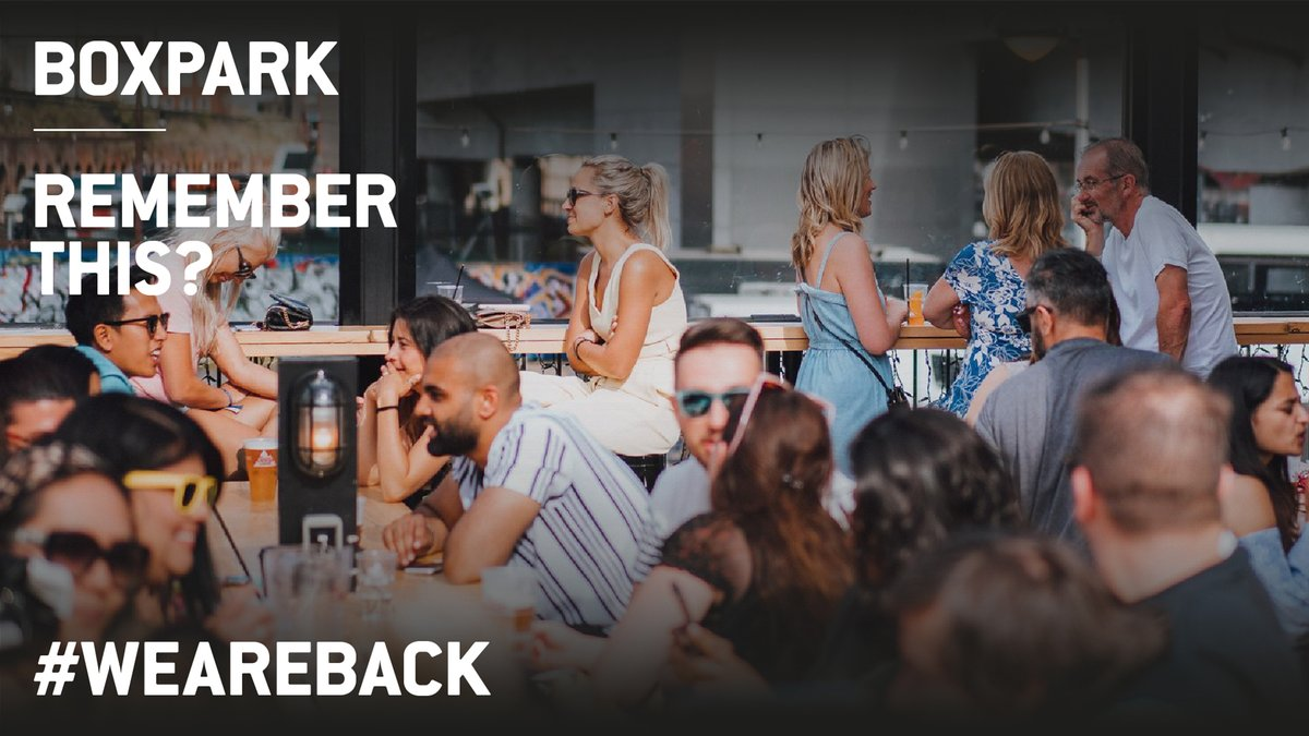 #WeAreBack and ready to serve drinks, food and good vibes to you and your bubble 😊  Click here to register for your visit 👇 https://t.co/hfbwEae0xD https://t.co/N6DwgfVaqP