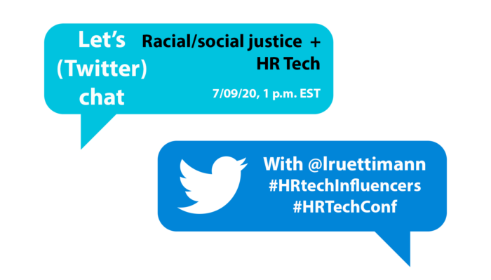 Don't miss the live twitter chat with @HRExecMag #HRTechInfluencer Laurie Ruettimann tomorrow at 1 p.m. ET. #HRTechConf https://t.co/rcriShsJ3Y https://t.co/rTj9R5XAOu