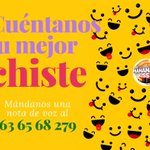 Image for the Tweet beginning: ¿Quieres contar tus mejores chistes