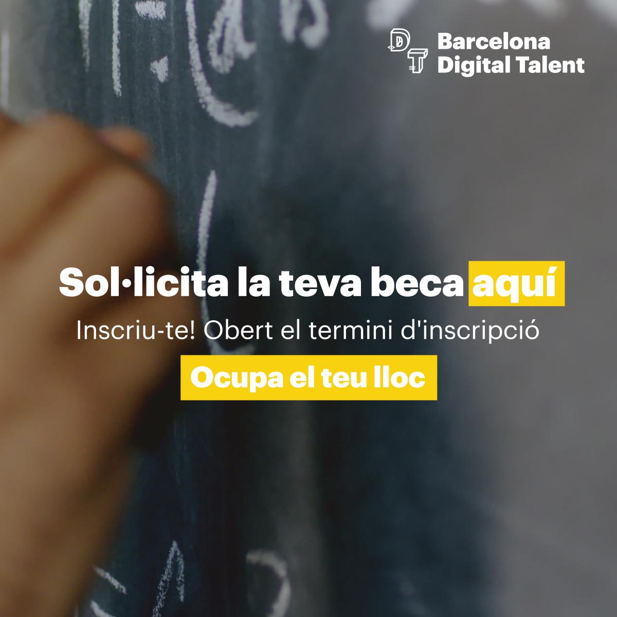 🎓Digitalitza't i ocupa el teu lloc.   Més de 800 beques en cursos formatius, en les àrees més destacades del mercat TIC. Formació certificada per centres de prestigi de tot Catalunya.   👉Sol·licita la teva beca! https://t.co/EqxsRvadBN https://t.co/nHT2soHKnp