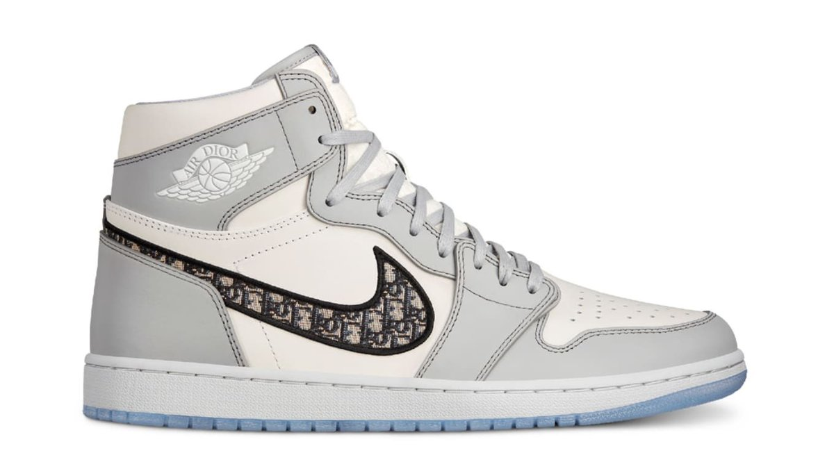 Hit the link below to see how the Dior x Air Jordan 1s were made SEE MORE: bit.ly/320ickG