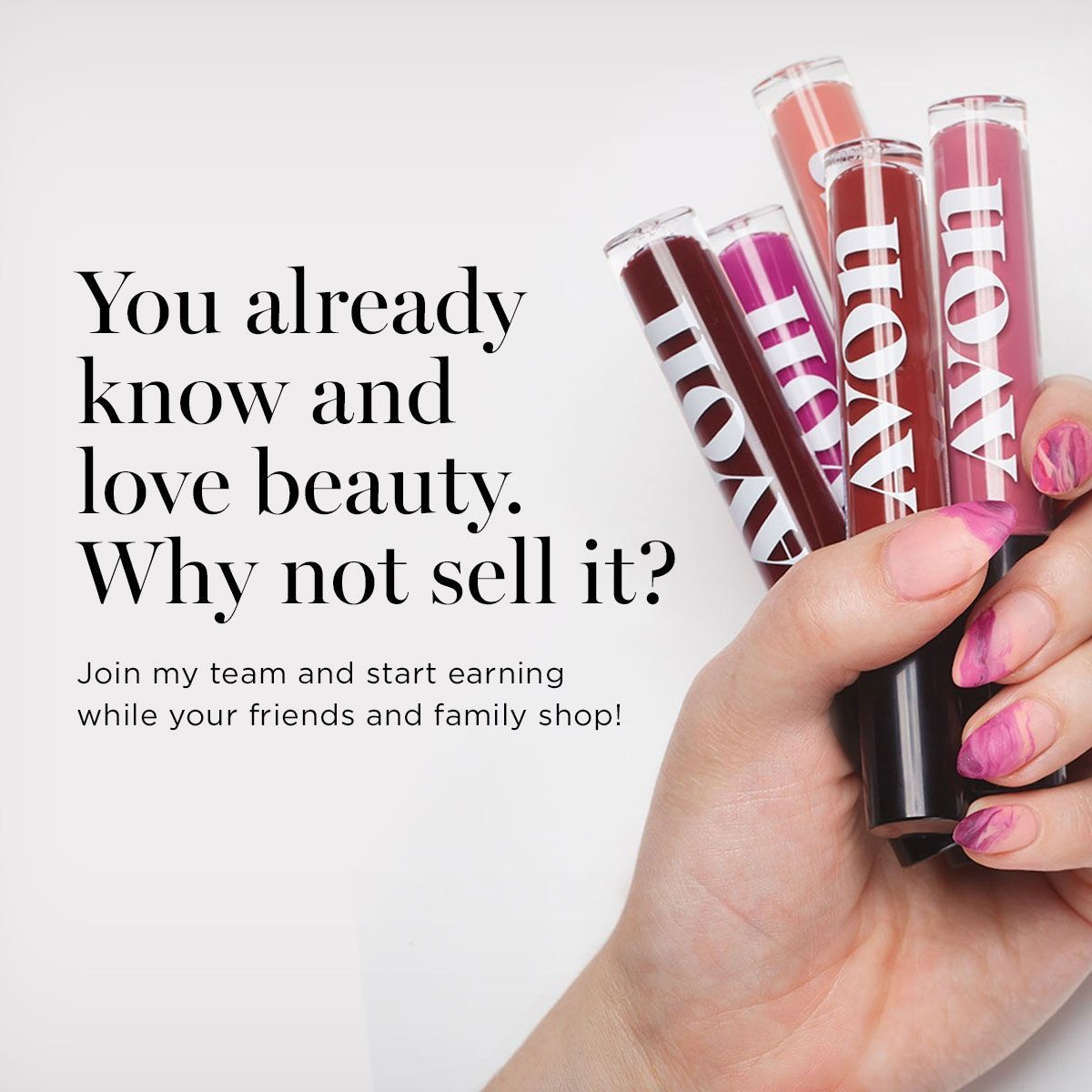 Are you a beauty influencer? Why not sell beauty? You can join Avon today for free and start earning right away! #beautyinfluencer #lovebeauty #joinforfree #earnwhileyouinfluencepic.twitter.com/ugWTM0bnmN