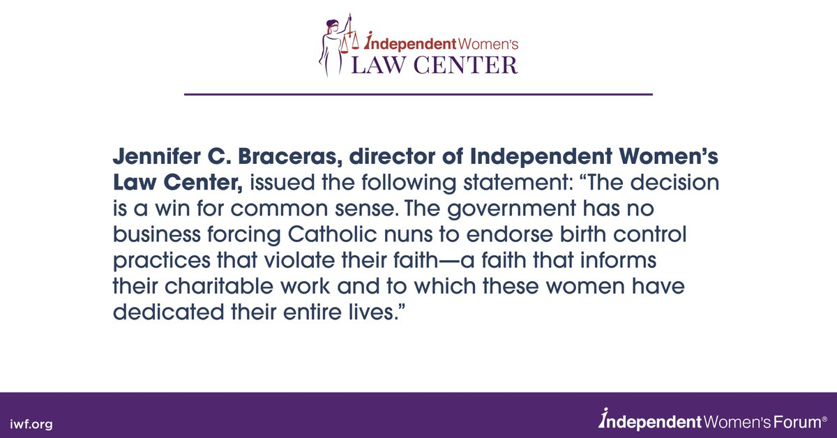 """The decision is a win for common sense.' @J_Braceras, director of Independent Women's Law Center #IWlaw #IWLC"