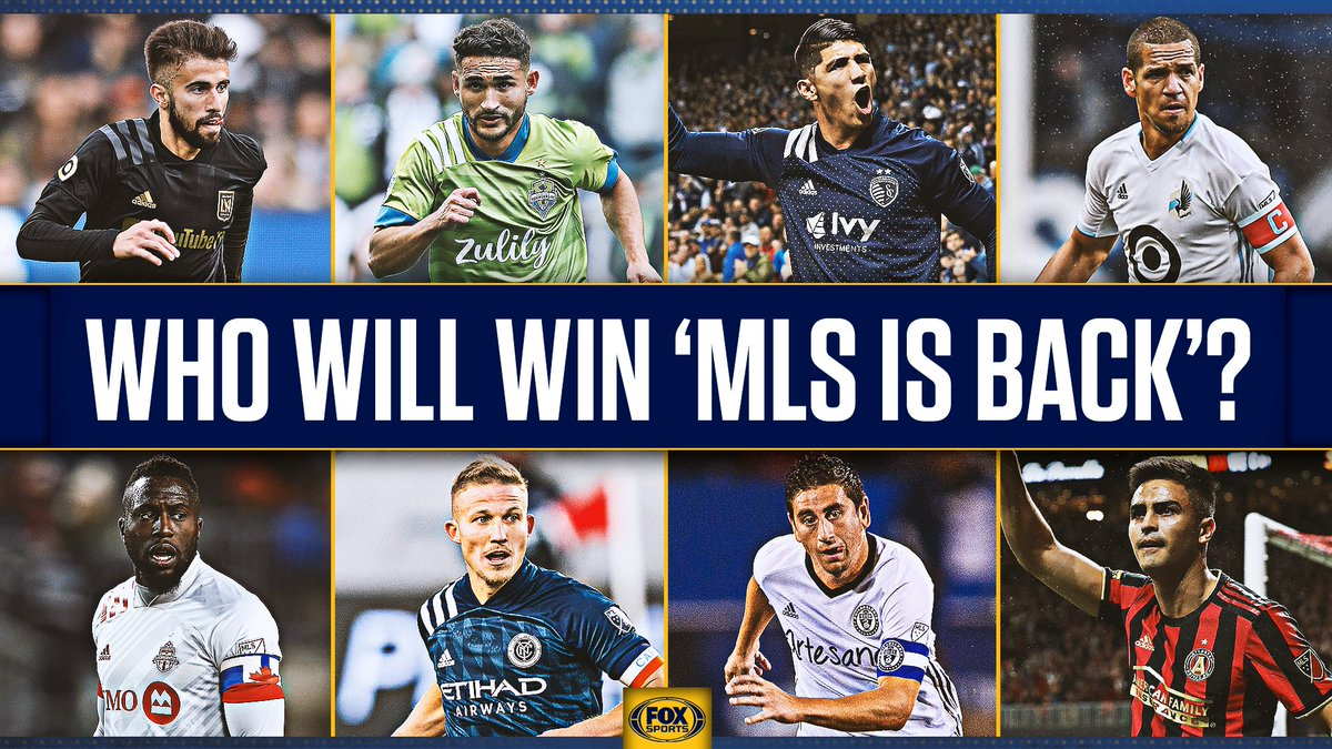 25 teams. 6 groups. 1 champion. Whos going all the way in the #MLSisBack Tournament? 🤔