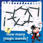 Image for the Tweet beginning: #BrainTeaserTime How many magic wands