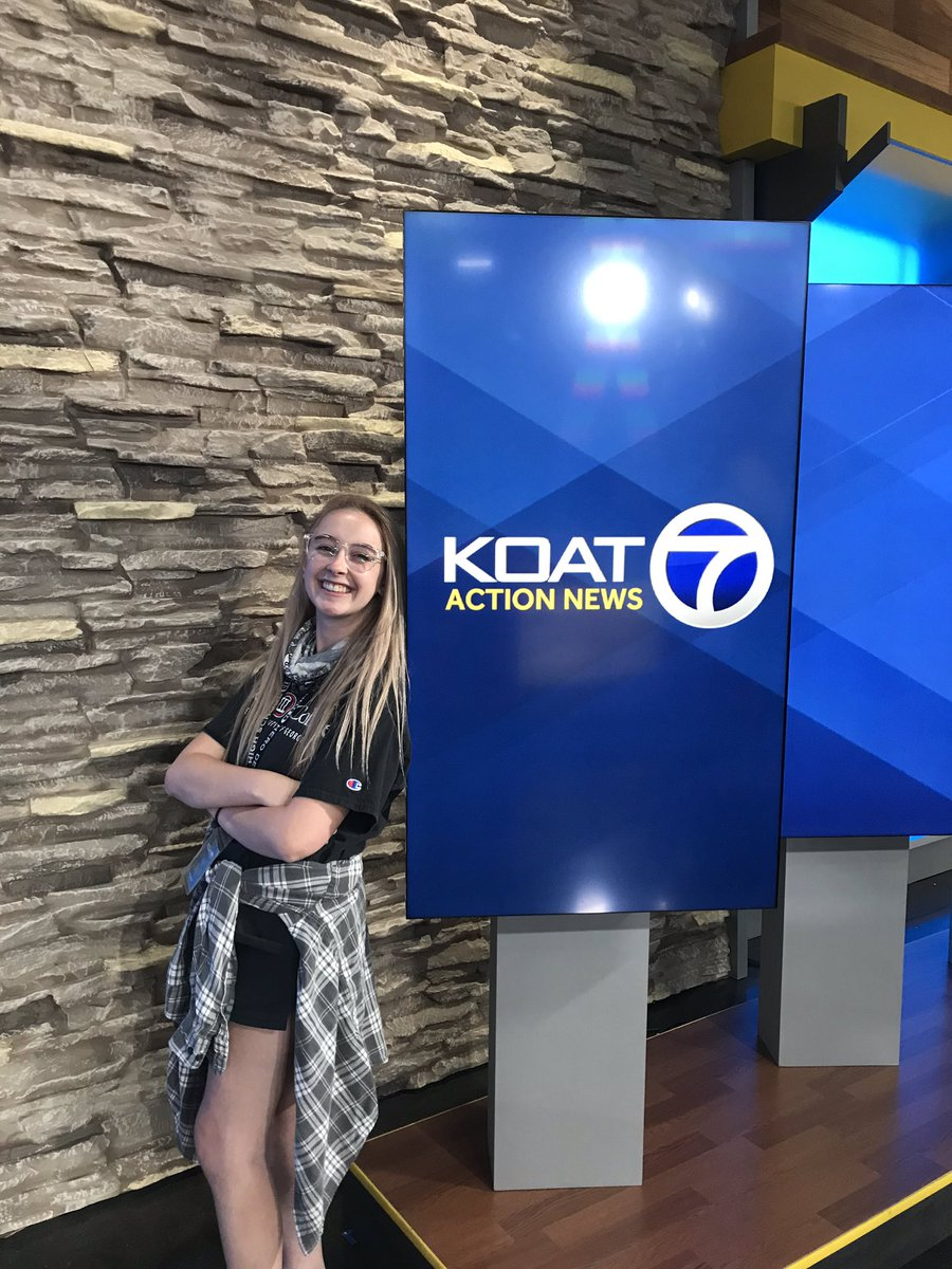 Happy one year anniversary, to me and @koat7news ! Thanks for the memories, lessons, and for introducing me to my wonderful 4pm show. Also, thanks as always to @UGAGrady for getting me ready for this market! https://t.co/mYqul1gTcK