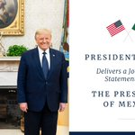 Image for the Tweet beginning: Next—President @realDonaldTrump delivers a joint