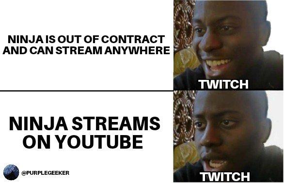 Ninja on youtube? pic.twitter.com/psctpMumYJ