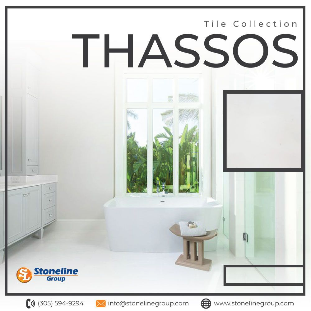 The Luxurious Thassos collection offers tiles with a polished finish so you can appreciate the full beauty of the stone.  #thassos #naturalstone #marble #collection #polished #straight #tile #kitchen #bathroom #shower #floor #Interiorwall #luxury #architect
