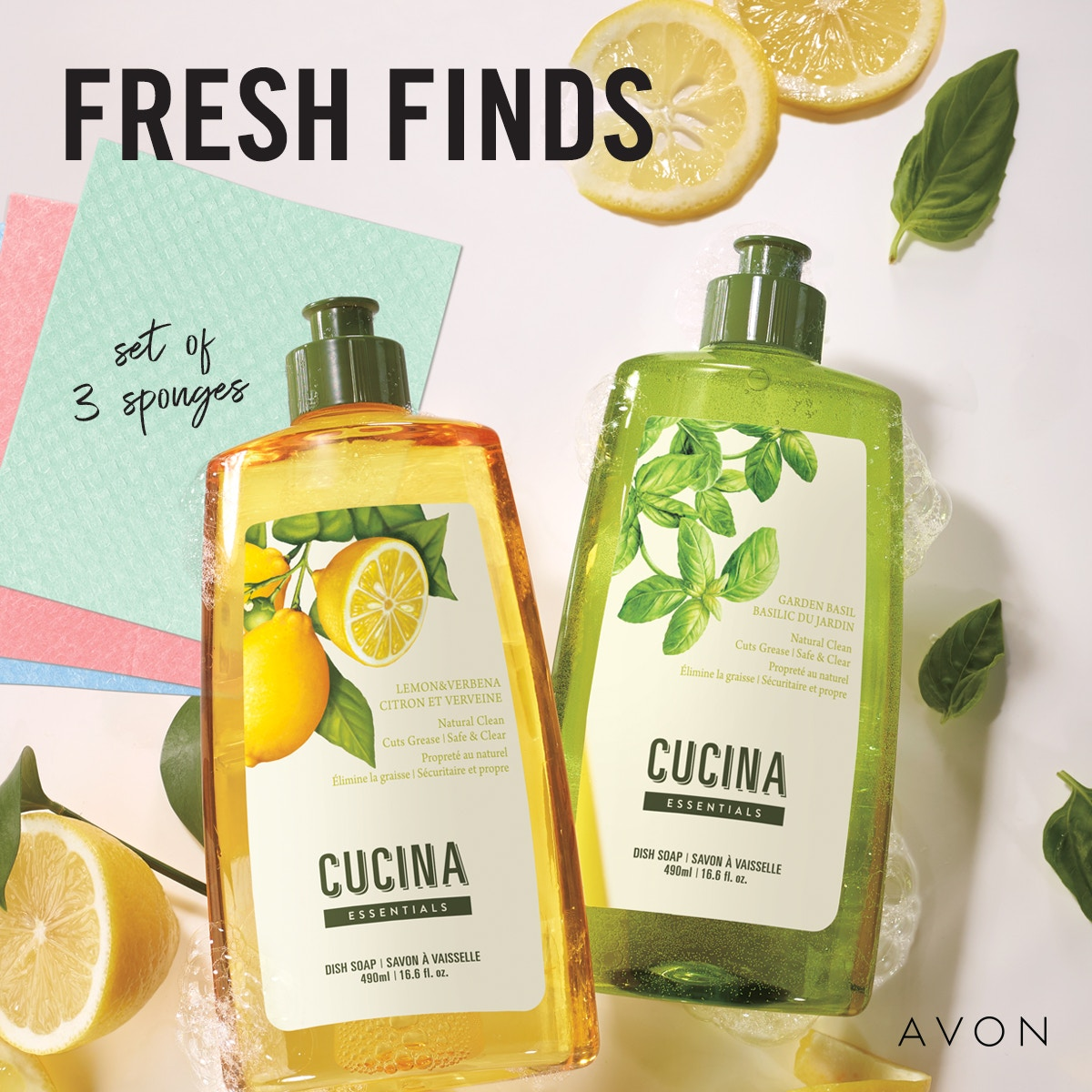 Fresh Finds #dishsoap #dishsponges #kitchen
