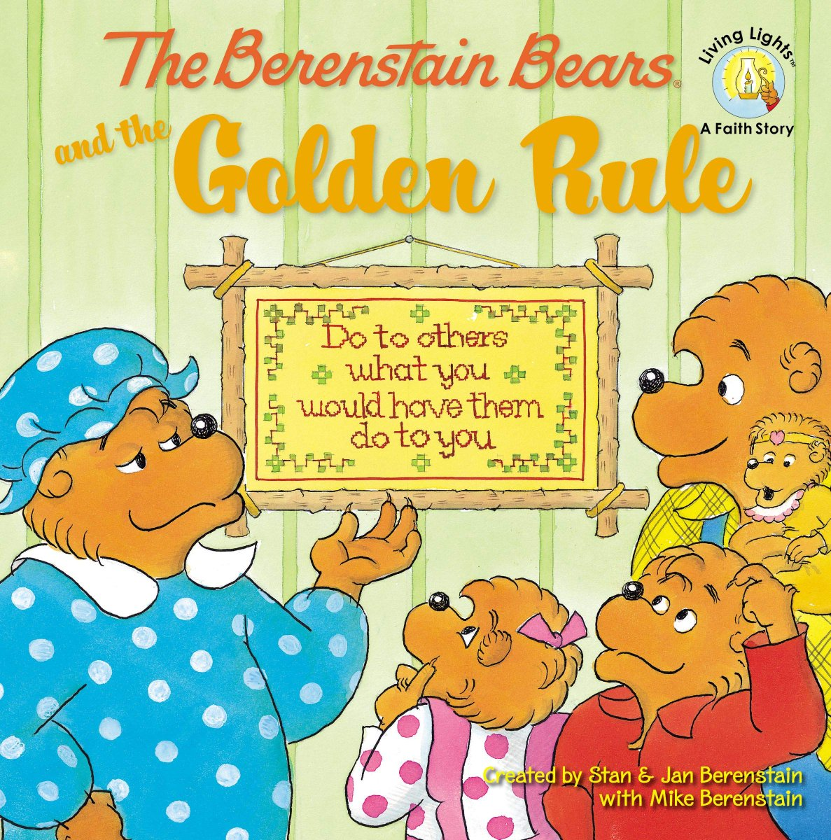 """Hey #Twitterverse! Remember great books from when we were kids like #TheBerenstainBears and the Golden Rule that taught us to """"Do to others what you would have them do to you."""" Between then & growing up - when do people forget the #GoldenRule applies to @Twitter too? Just asking! https://t.co/3HFsKLYeQb"""