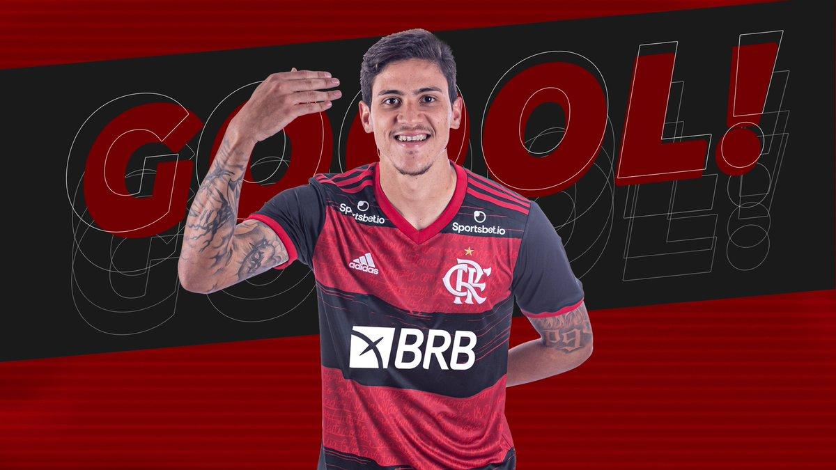 GOOOOOOLLL! Pedro empata o jogo no Maracanã. Confira o gol