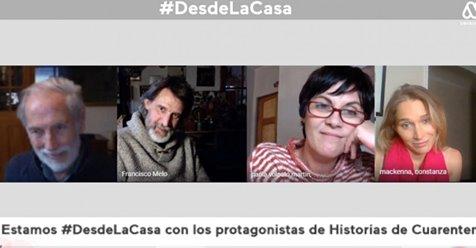 Protagonistas de Historias de Cuarentena contaron lo que harán cuando termine la pandemia >> https://t.co/E0roRsR8sX https://t.co/zLqIpfX5Fa