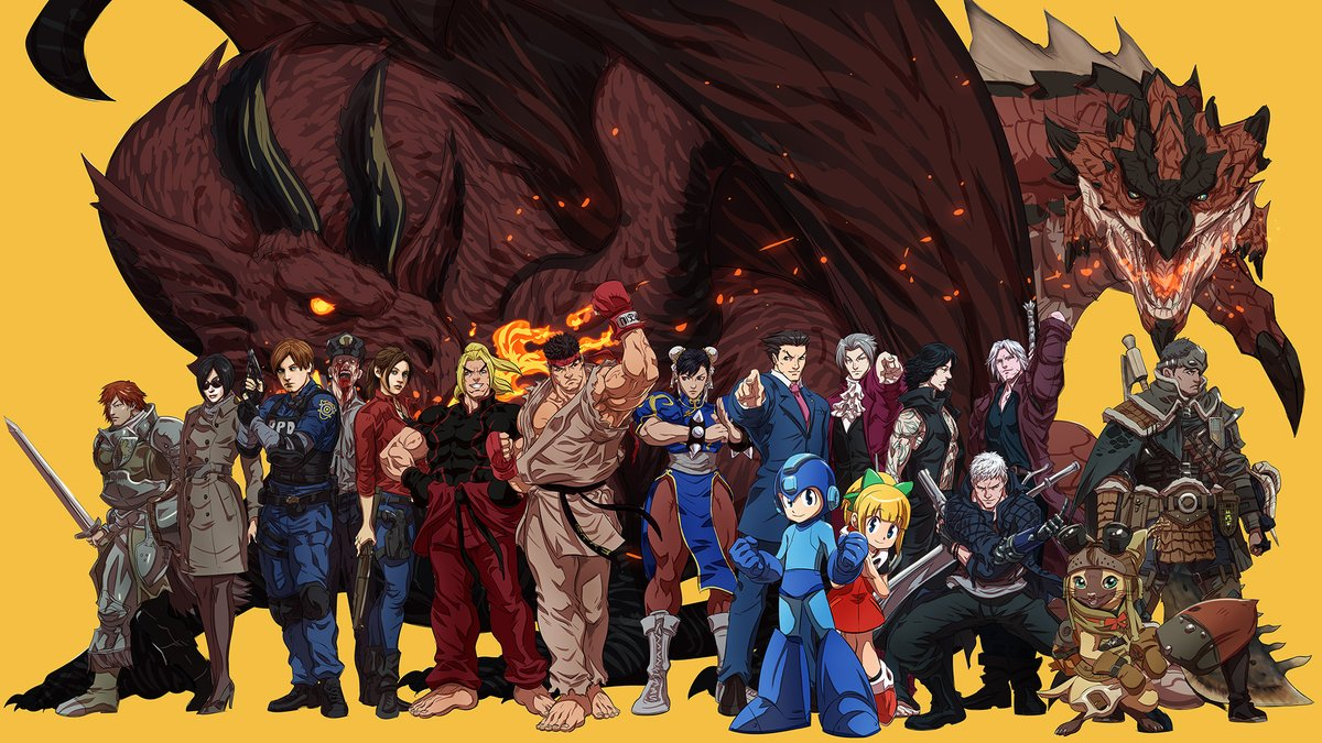 Happy National Video Game Day from all of us at Capcom! Thank you for playing and making us a part of your lives for so many years! 💛💙  What are your all time favorite Capcom games? 👀 https://t.co/VHS2ONMFjS