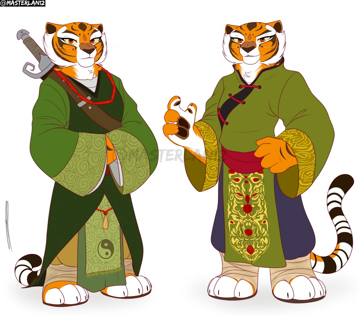 Tigress with her different outfits <br>http://pic.twitter.com/U3Paah64GW