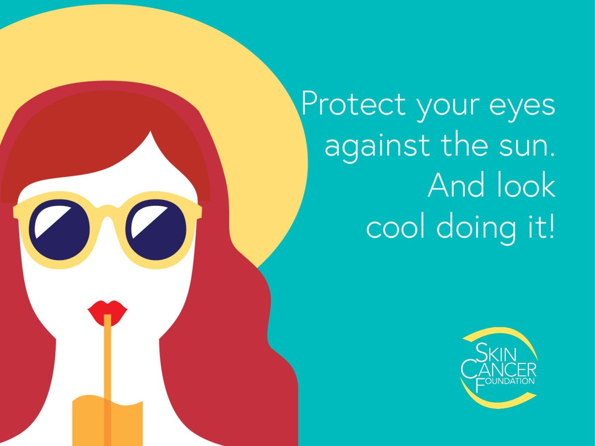 Safeguard against vision damage: ☑️ Eyelid skin cancers account for 5-10% of all skin cancers ☑️ At least 10% of cataract cases are attributable to UV exposure Learn more: bit.ly/EyeProtectionS…