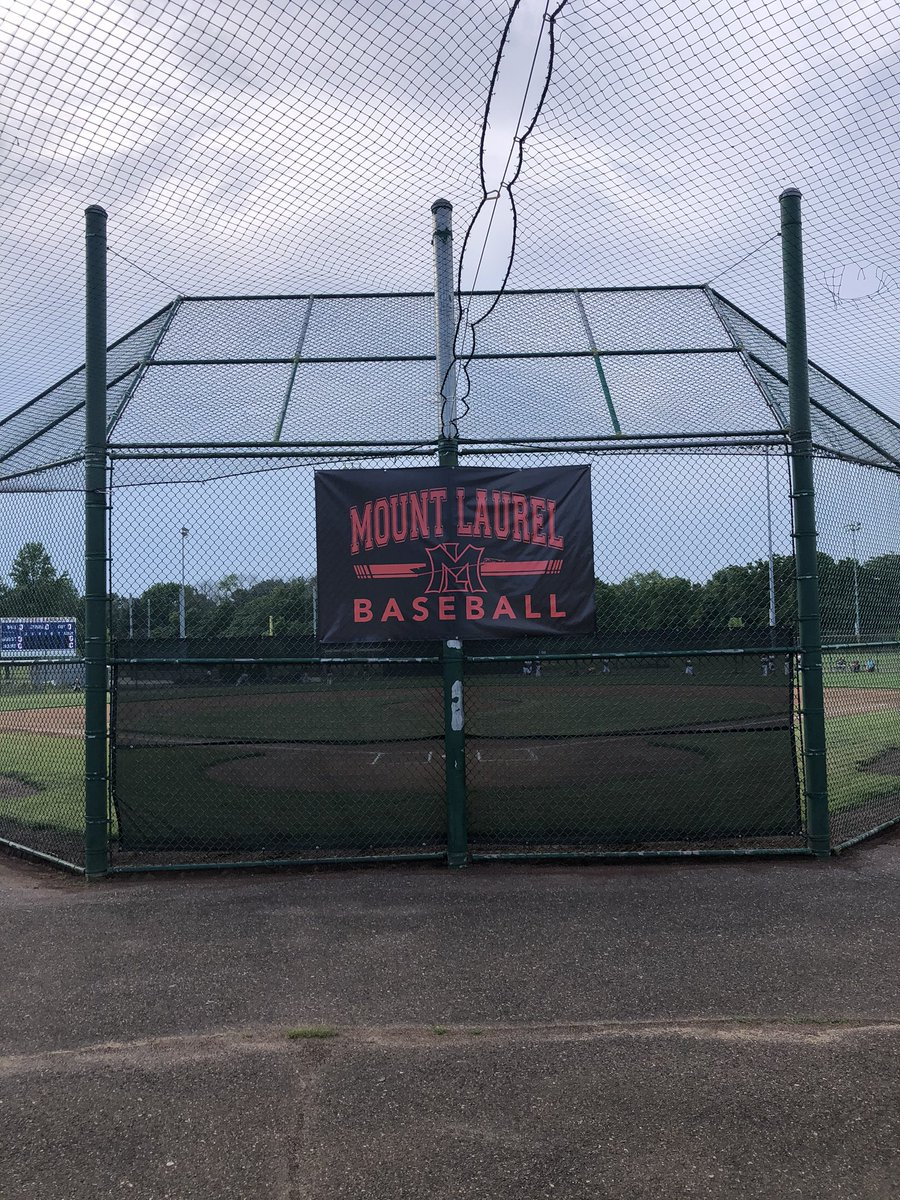 Excited to check out @MtLaurelBasebal and the future of Lenape baseball tonight!  #TRIBE pic.twitter.com/RDXulpkvWI