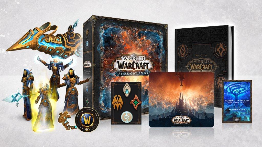 L'édition Collector de World of #Warcraft: Shadowlands vient d'être dévoilée. Consultez notre article pour en connaître tous les détails !  https://t.co/TSpmSbHsnG https://t.co/Jk0pb4u5ug
