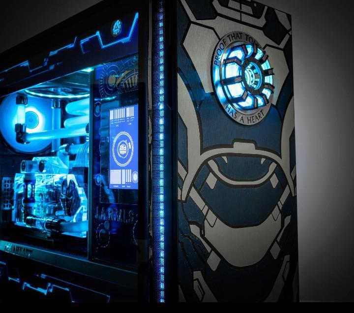 We'll take a bunch of these custom Iron Man PC's for Merchoid HQ!  (Credit to SENSHU_dp on Reddit)  #ironman #custombuild #marvel #avengers #mcu #tonystark https://t.co/kGIS4fMq2u
