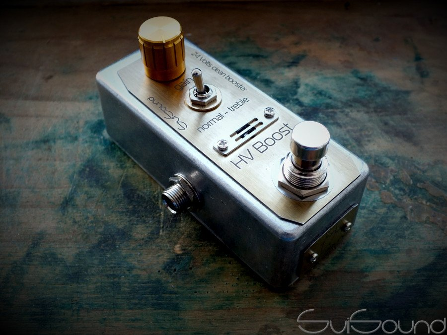 Clean / treble booster #HVBoost  #svisound #guitar #guitareffect #guitarpedal #fuzz #distortion #overdrive #vibrato #delay #phaser #chorus #flanger #effect #tremolo #steampunk #techo #industrial #cyberpunk #postapocalyptic #gothic #rock #music #bass #amplifier #amp #cabinet