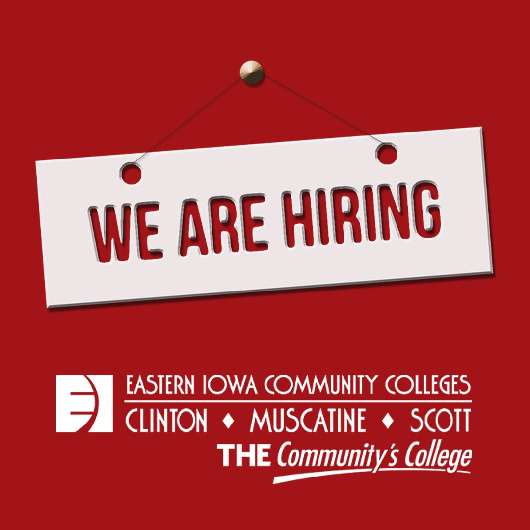 SCC has openings for full and part-time Administrative Assistants. See job description and apply online at https://t.co/3Hn5njV6sl #QuadCities #THECommunitysCollege #Hiring #HigherEdJobs https://t.co/tVRLqYaMsh