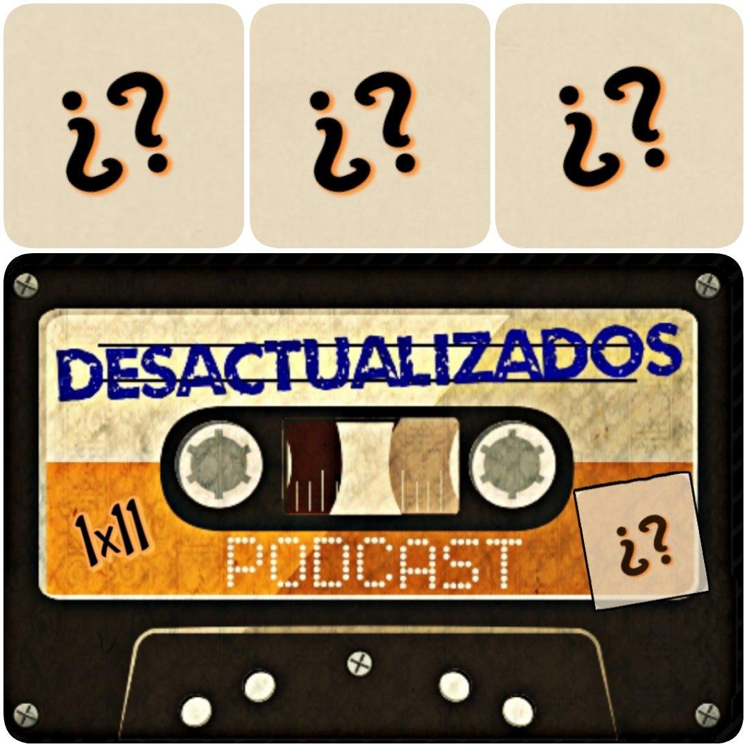 Mañana llega el capítulo 11 de #desactualizadospodcast ¿Cuáles serán nuestras nuevas #Recomendaciones ?  No te lo pierdas y escúchanos en Ivoox-  Spotify -  Itunes -