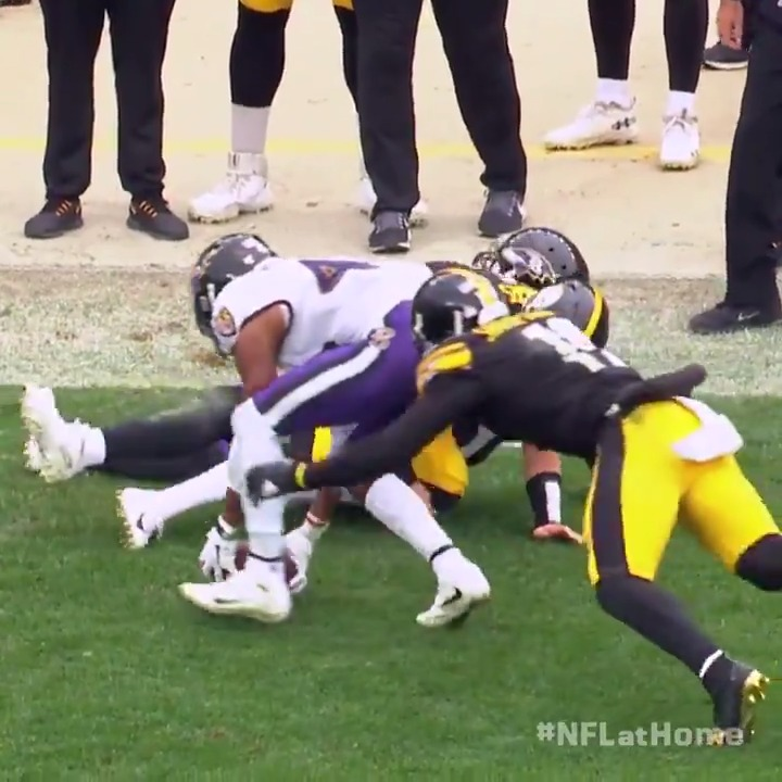 Image for the Tweet beginning: .@marlon_humphrey's favorite play of his