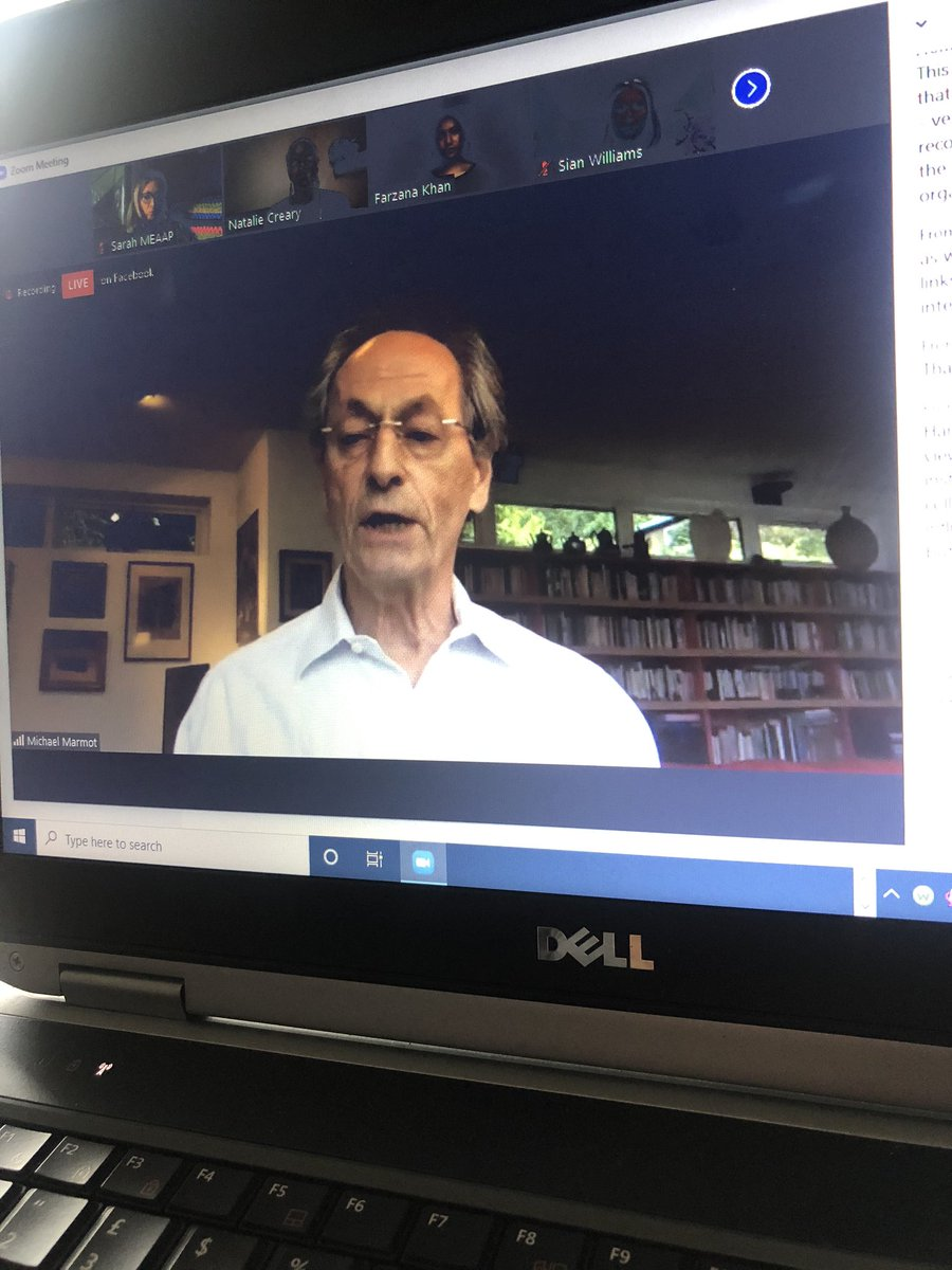 The importance of our communities being heard, engaging populations, people need to be empowered, to speak and be heard...@MichaelMarmot & @khankfarza suggest democratising the potential of public health with leaders with lived experience #healthinequalities2020 #populationhealth <br>http://pic.twitter.com/WYx9Ofepyk