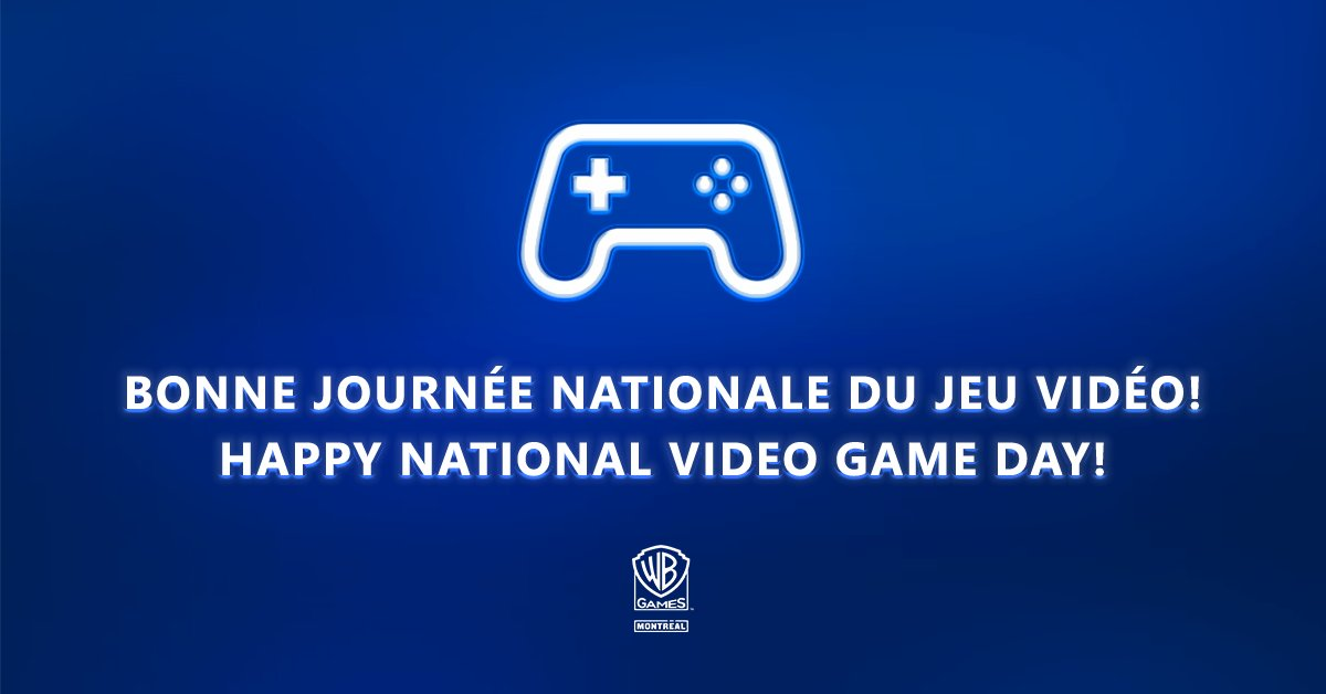 Joyeuse fête à tou.t.e.s les passionné.e.s ! Qu'avez vous appris grâce aux jeux vidéo?  🎉🎮  Happy #NationalVideoGameDay everyone! What did you learn #ThanksToVideoGames ? https://t.co/gtyECBILhx