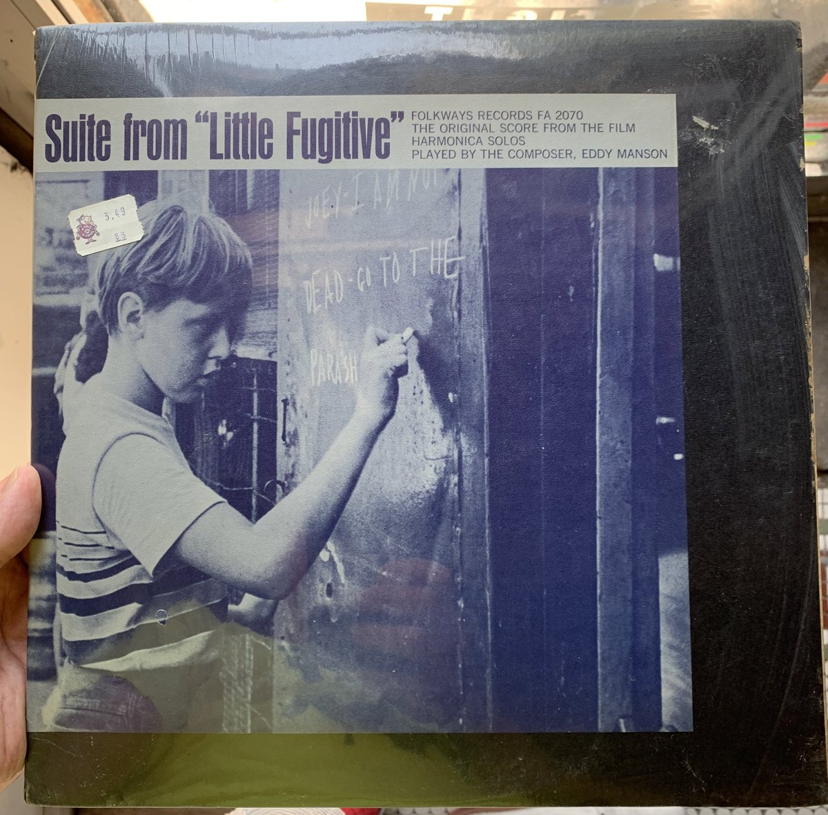 @tywilc I just got this sealed. It's going to stay that way, which feels strange too . check out that price tag!