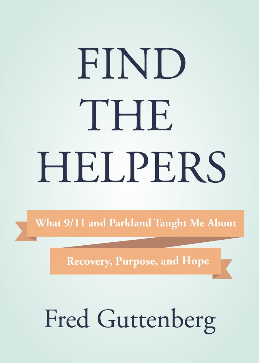 """A few weeks ago, I announced my book """"Find The Helpers"""" and happy to preview the cover today.  The book will be available for preorder on Amazon next week and I will make an announcement when that is ready.  I look forward to sharing my story with all of you and how I found hope."""