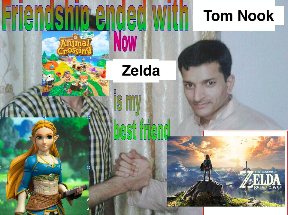 would like to announce that i have started playing breath of the wild