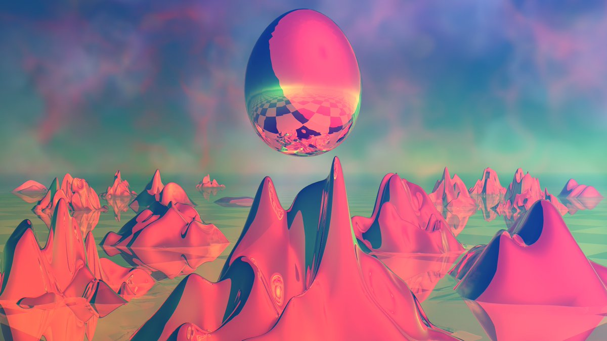 Cosmic Egg More designs & prints over at http://zer0rei.com #vaporwave #vaporwaveaesthetics #vaporwaveart #bryce #90ies #3dart #3dmodeling #dailyart #aestheticpic.twitter.com/Hl00OPROUU