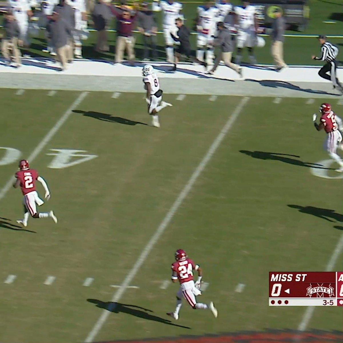 .@H_Kylin: 234 rush yards  @NickGibbo837: 129 rush yards   @HailStateFB ran for 4️⃣6️⃣0️⃣ yards vs. Arkansas — the most rushing yards in an SEC game in program history 🔥 https://t.co/qnkZV3osU0