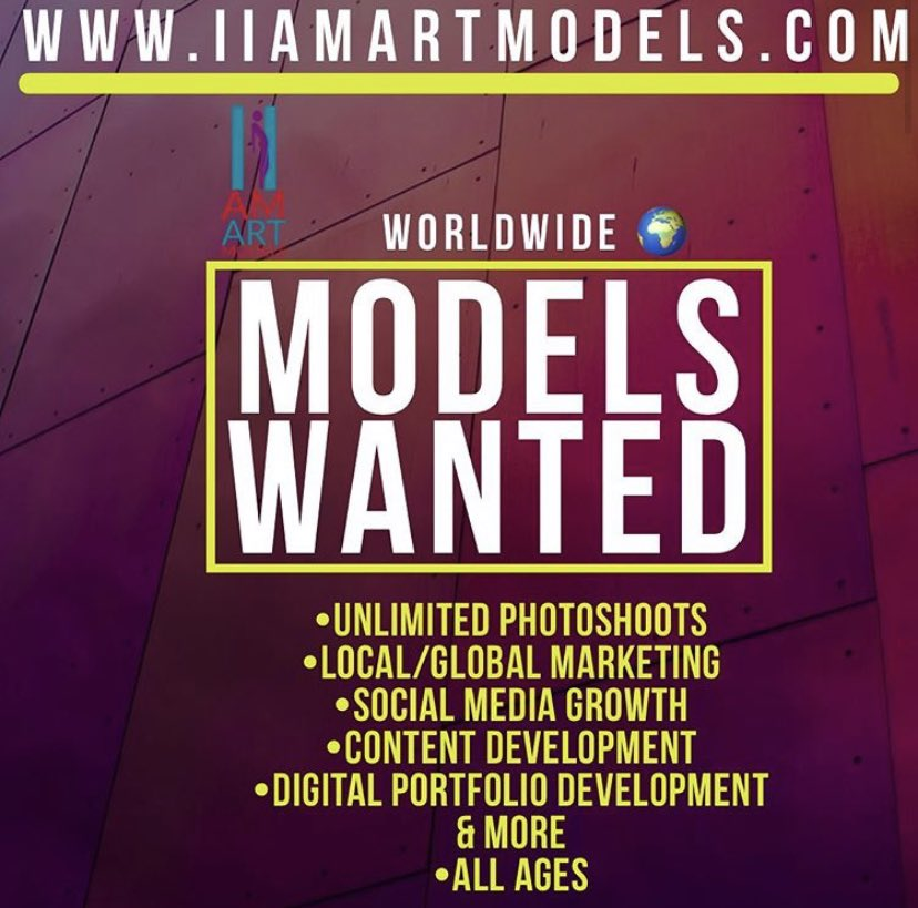 DM TO INQUIRE OR USE Link in bio of @iiamartmodels . MODELS WANTED .. . . . . . . . . #modeling #models #modelsearch #modelagency #modelagencies #modelagent #modelswanted #modelswantedworldwide #losangeles #longbeach #orangecounty #hollywood #canada #london #uk #paris #mexicopic.twitter.com/ZhkE7QIpcn