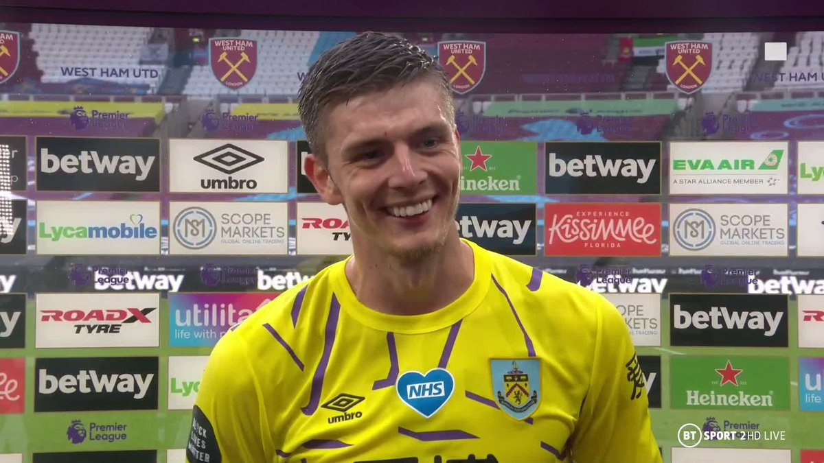 Its been good so far and its a total we really want to build on. 🤲 Matches: 34 ⛔️ Clean sheets: 14 No keeper has kept more shutouts in the Premier League this season than Nick Pope 🙌 🎙 @ReshminTV