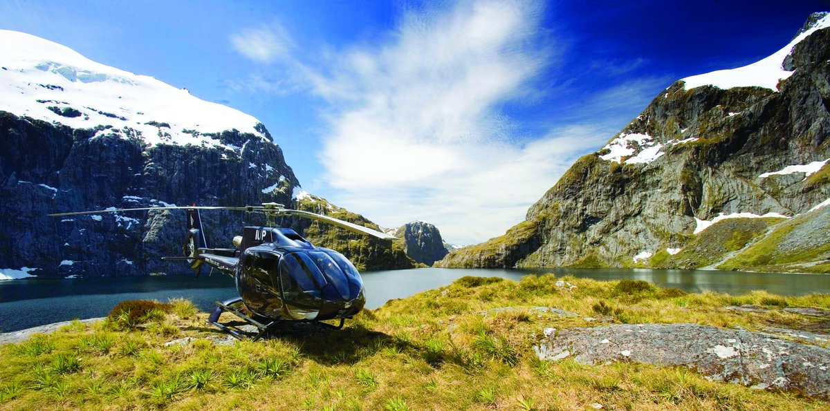 """On G'Day with Ian Swain, Ian speaks with Louisa """"Choppy"""" Patterson, of Over The Top helicopter experiences in New Zealand. Learn why a bird's-eye view is the best way to experience the beauty and adventure of New Zealand's South Island. https://t.co/FtPGhPFOhn  #podcasts #Travel https://t.co/WiZWWdnWNG"""