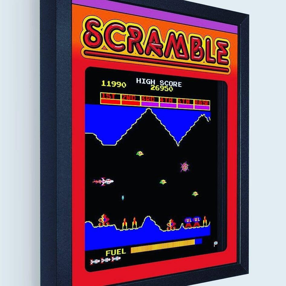 Scramble by @konami https://t.co/veeZDz9TzI #art #artwork #shadowbox #game #arcadegames #videogame #arcade #1980s #scramble #3d #8bit #retro #gamer #gamerlife #gamerguy #gamergirls #space #jet #fuel #base #ufo https://t.co/jspDWq1EkW