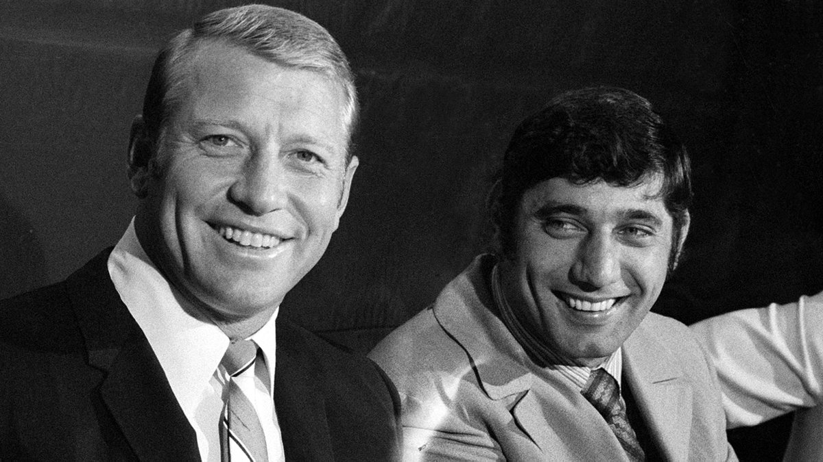 New Yorks finest: Mantle and Namath. #NamathDay