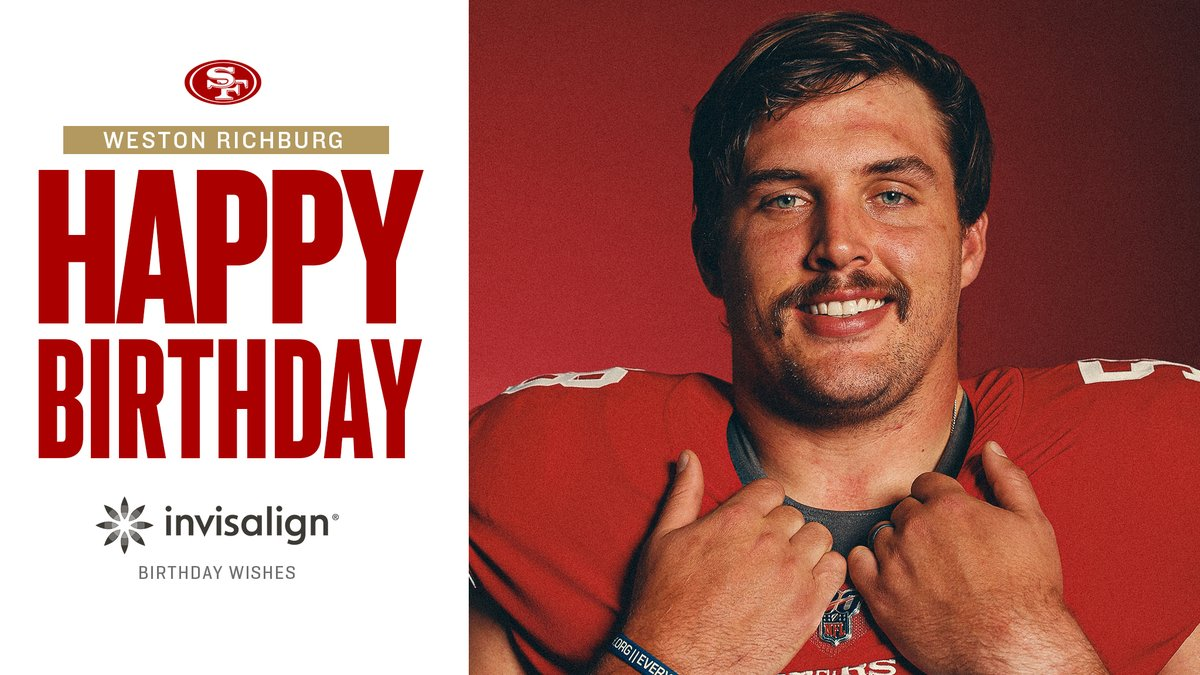 "Happy birthday Weston ""Big Drip"" Richburg! 🎉 https://t.co/nOSwds5tmv"