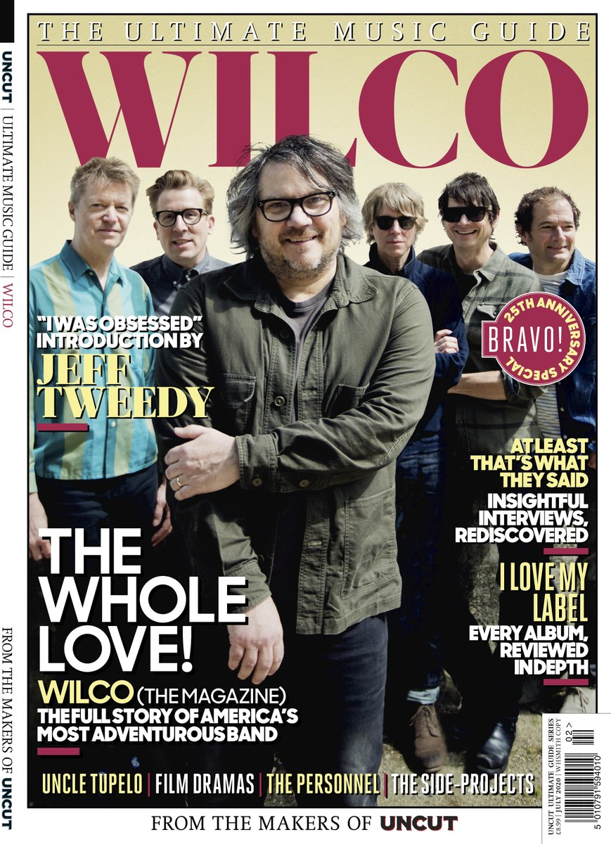 Wilco –The Ultimate Music Guide is available to order worldwide via this link:  https://t.co/aWstZnhLnO https://t.co/NAqOYpHidB