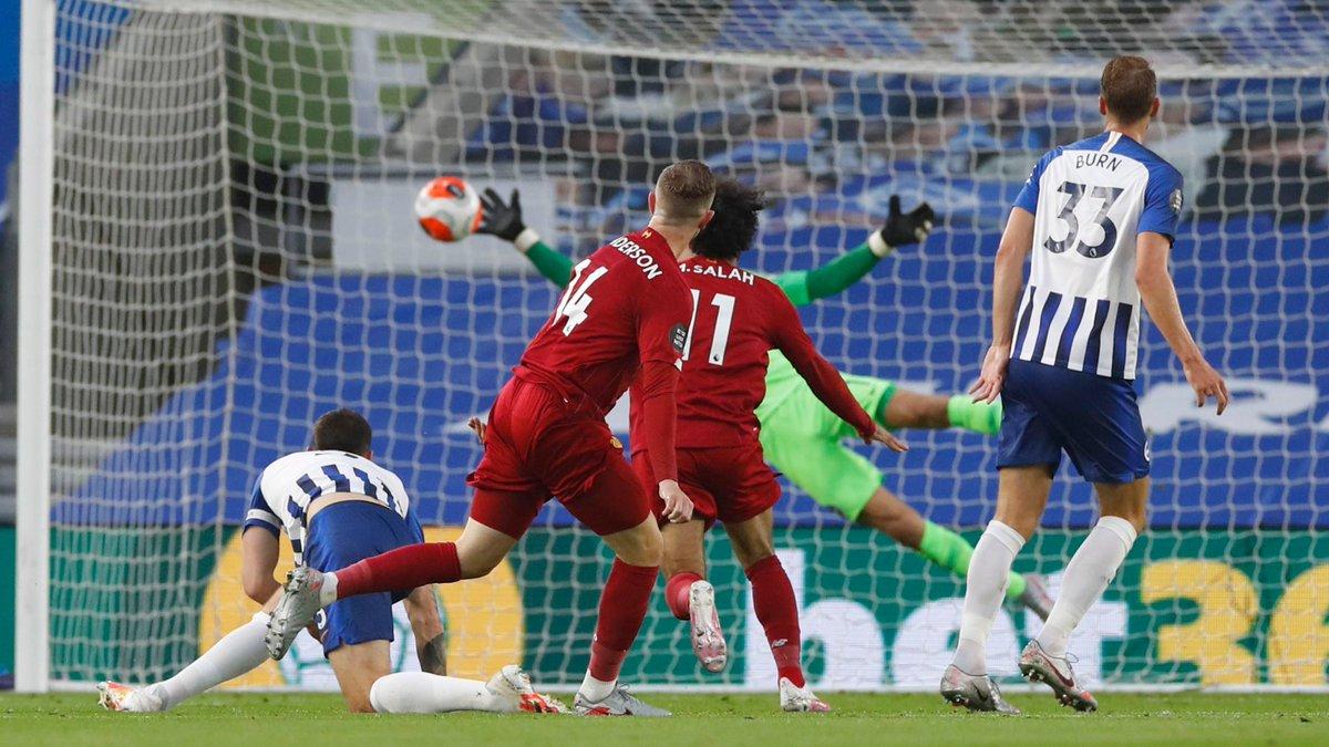 Xem lại bóng đá Brighton vs Liverpool, Ngoại hạng Anh – 9/7/2020