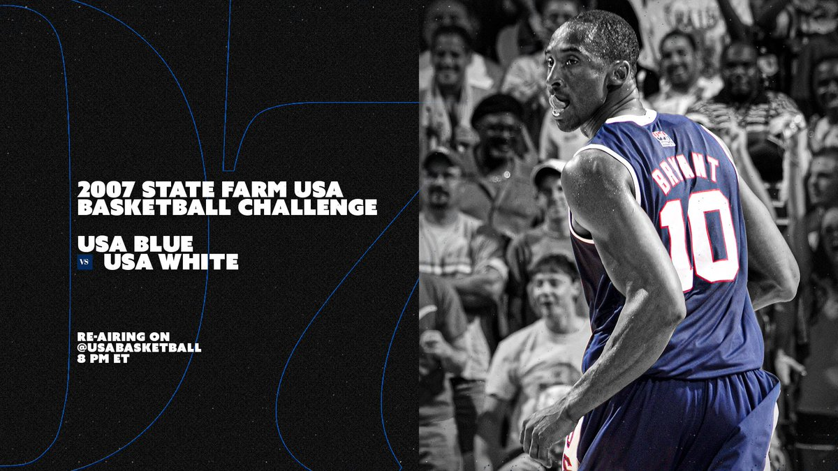 📼 Tomorrow. 8 PM ET. Kobe makes his USA Basketball debut, with new commentary from Jerry Colangelo & Coach K!