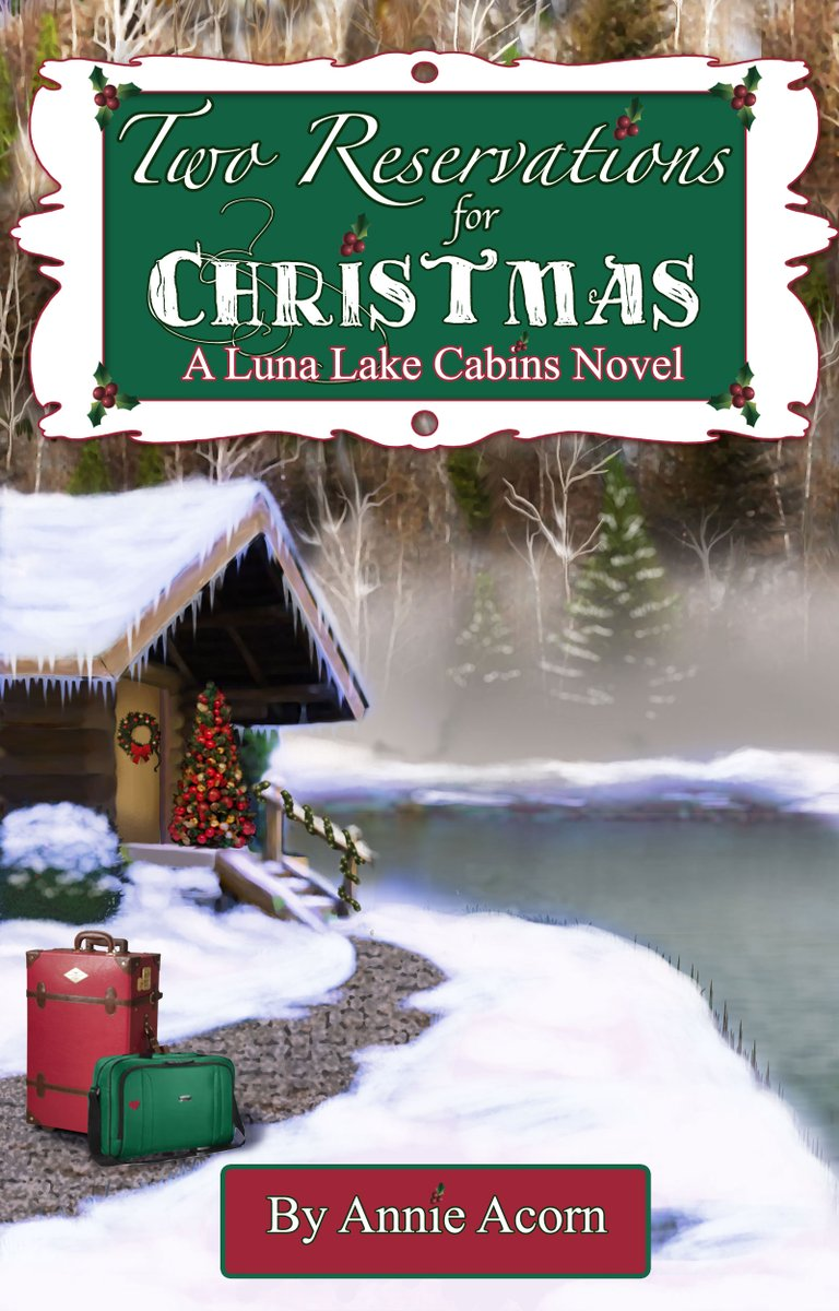 Do YOU have all three of my stand alone Luna Lake Cabins Christmas Romances yet?  Two Reservations for Christmas, Christmas at the Cabins & Christmas by Design - #LunaLakeCabins #Christmas #Romance #Bookplugs #SWRTG #BYNR #authorRT :-)