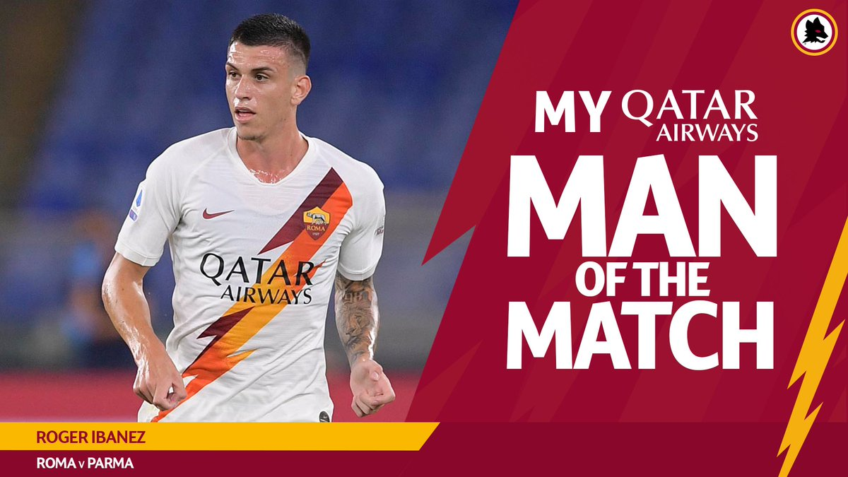 """AS Roma English on Twitter: """"Retweet if Roger Ibanez was your ..."""