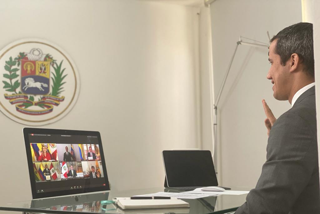 """Presidente (E) de Venezuela y de la #AsambleaVE, @jguaido: """"Como Gobierno legítimo de Venezuela retomamos el proceso de integración a la Comunidad Andina de Naciones""""  Lee la nota oficial https://t.co/zjvINS1XT4 https://t.co/yr3SALtLON"""