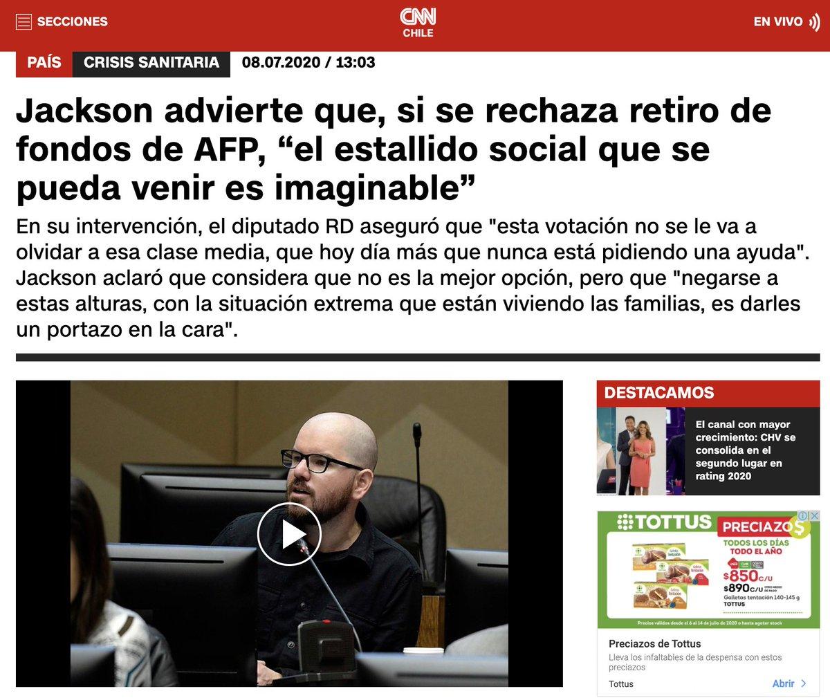 RT @pablolirar: Lo único que quiere el Frente Amplio es destruir el país #RetirodeFondos https://t.co/X8McdBgk0F